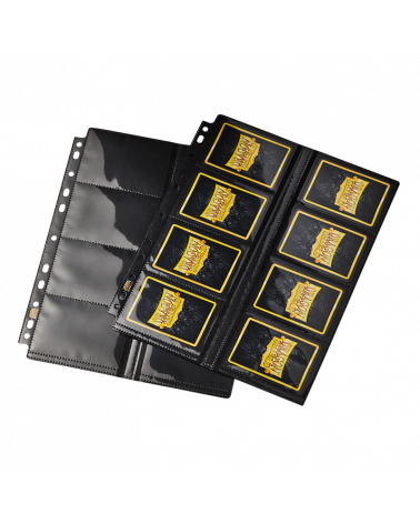 16-Pocket Pages - Centerloaded - Clear front